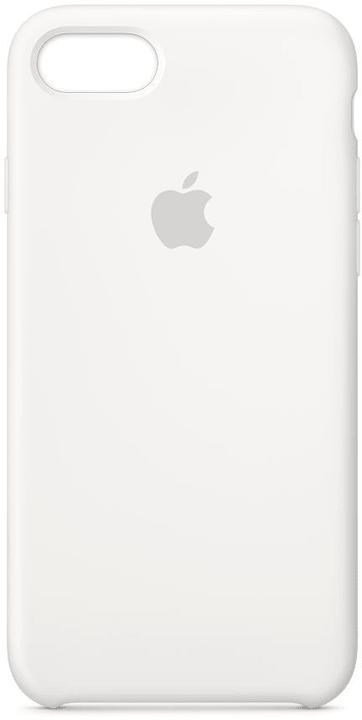 Silikon Case iPhone 8 & 7 Weiss Hülle Apple 785300130020 Bild Nr. 1