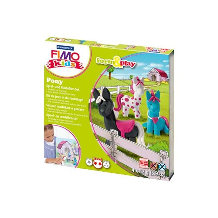 Kids set pony Fimo 665554300000 Photo no. 1
