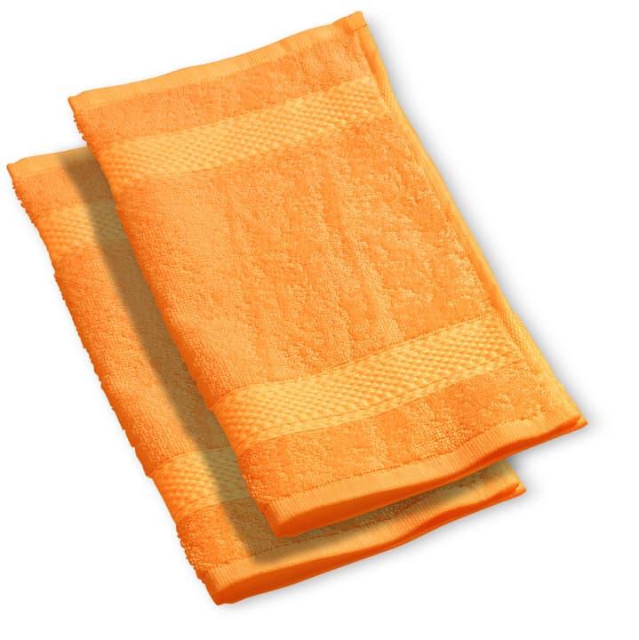 BEST PRICE Lavettes à 2 piéces 450845020134 Couleur Orange Dimensions L: 30.0 cm x H: 30.0 cm Photo no. 1