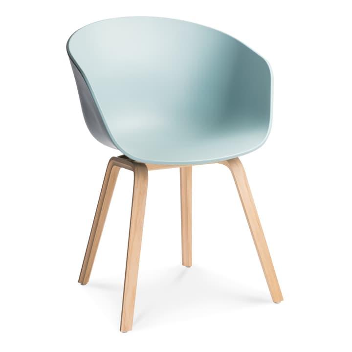 AAC 22 Stuhl HAY 366118800040 Grösse B: 52.0 cm x T: 59.0 cm x H: 79.0 cm Farbe Blau Bild Nr. 1