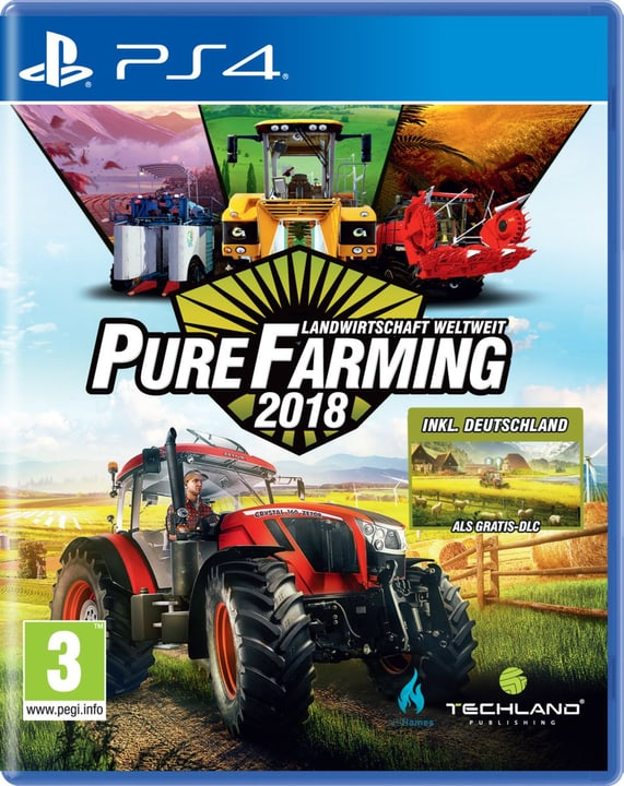 PS4 - Pure Farming 2018 Day One Edition (D) Physique (Box) 785300131688 Photo no. 1