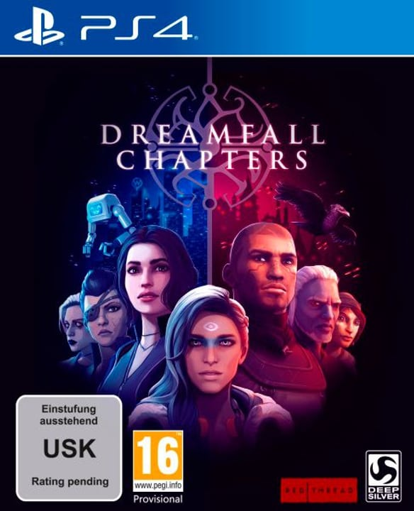 PS4 - Dreamfall Chapters Fisico (Box) 785300121792 N. figura 1