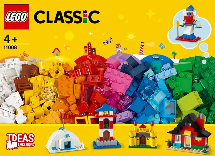 LEGO Classic 11008 Bausteine - bunte Häuser 748732600000 Bild Nr. 1