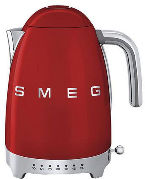 50's Retro Style avec Temp. variable 1,7 l rouge Bouilloire Smeg 785300136773 Photo no. 1