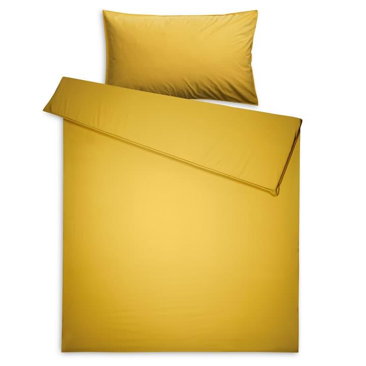 BETRIA Taie d'oreiller en percale 376024759703 Couleur Jaune Dimensions L: 100.0 cm x L: 65.0 cm Photo no. 1