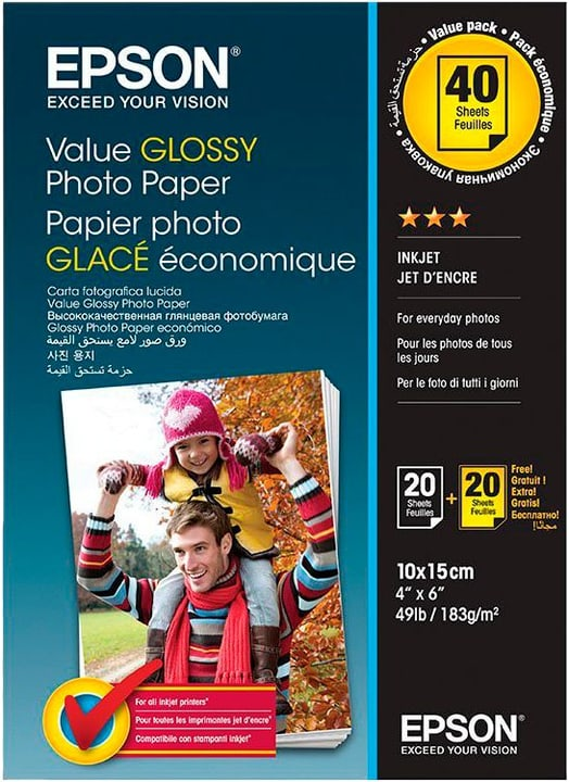 S400044 Photo Paper Glossy Epson 798548200000 N. figura 1