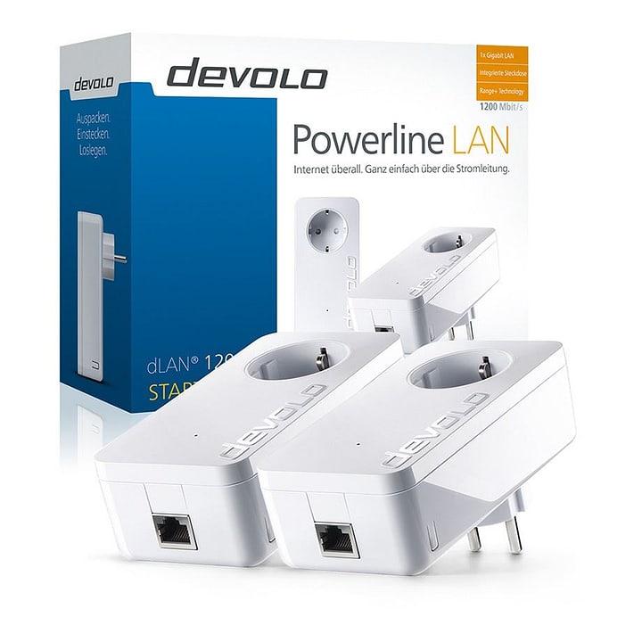 dLAN 1200+ Powerline Starter Kit Starter Kit devolo 79792970000014 Bild Nr. 1
