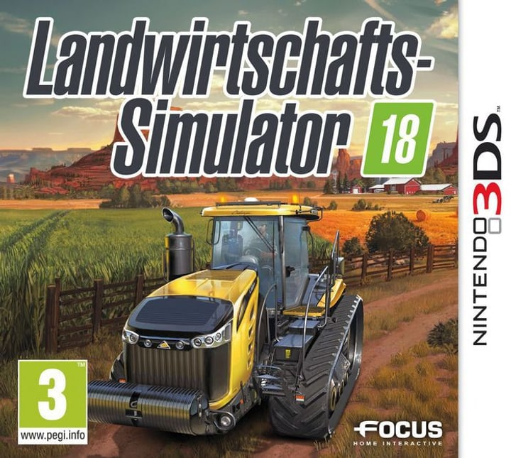 3DS - Landwirtschafts-Simulator 18 785300122379 Photo no. 1