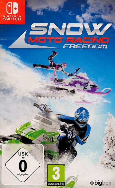 Switch - Snow Moto Racing Freedom Fisico (Box) 785300129985 N. figura 1