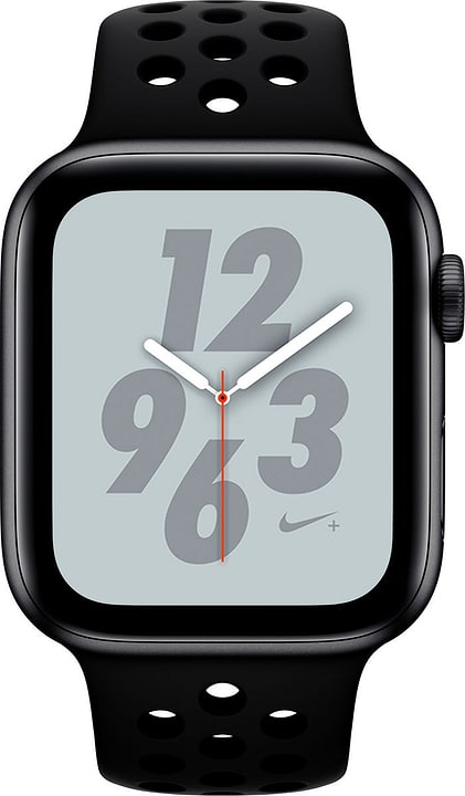 Watch Nike+ 44mm GPS spacegray Aluminum Anthracite Black Nike Sport Band Smartwatch Apple 798457500000 Photo no. 1