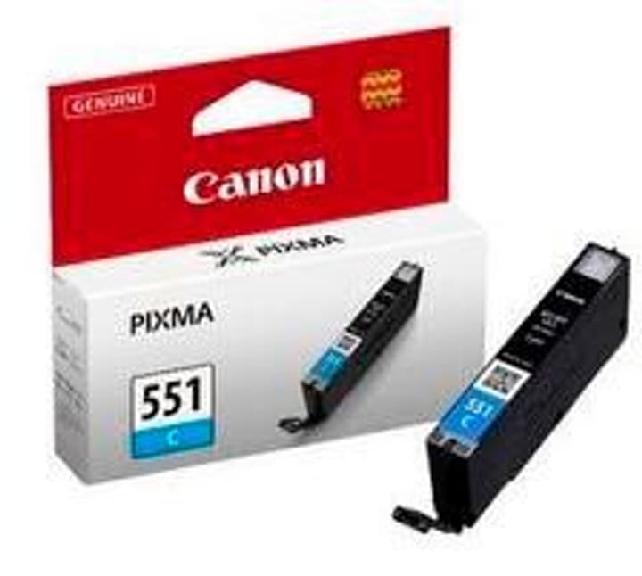 CLI-551C Tintenpatrone cyan Canon 796075800000 Bild Nr. 1