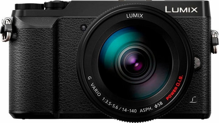 Lumix GX80 14-140mm Appareil photo système noir (DMC-GX80HEGS) Panasonic 785300126054 Photo no. 1