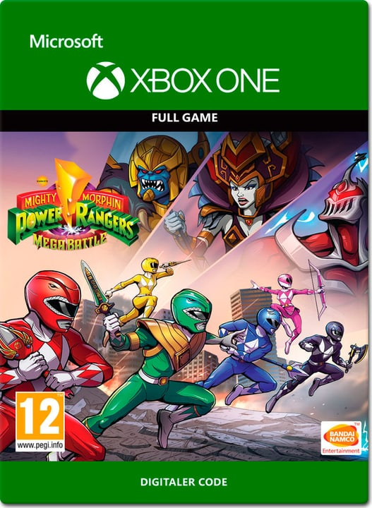Xbox One - Mighty Morphin Power Rangers: Mega Battle Download (ESD) 785300138688 N. figura 1