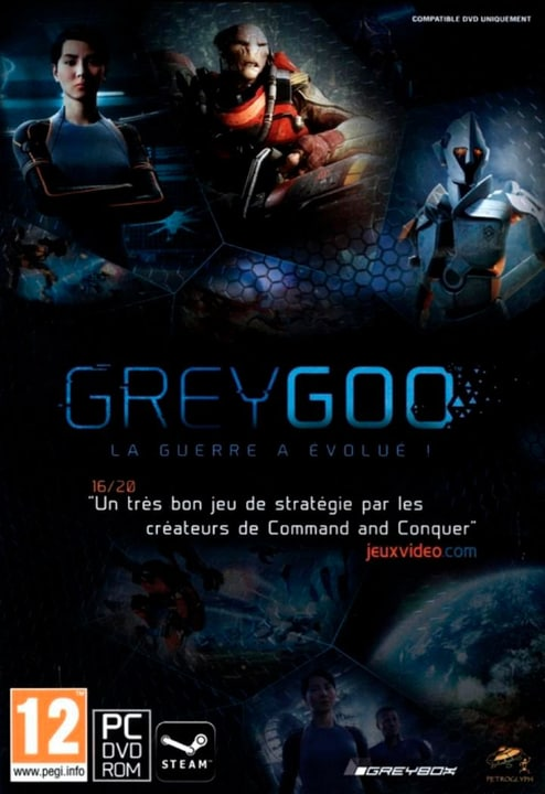 PC - Grey Goo [DVD] (F) Box 785300135844 Photo no. 1