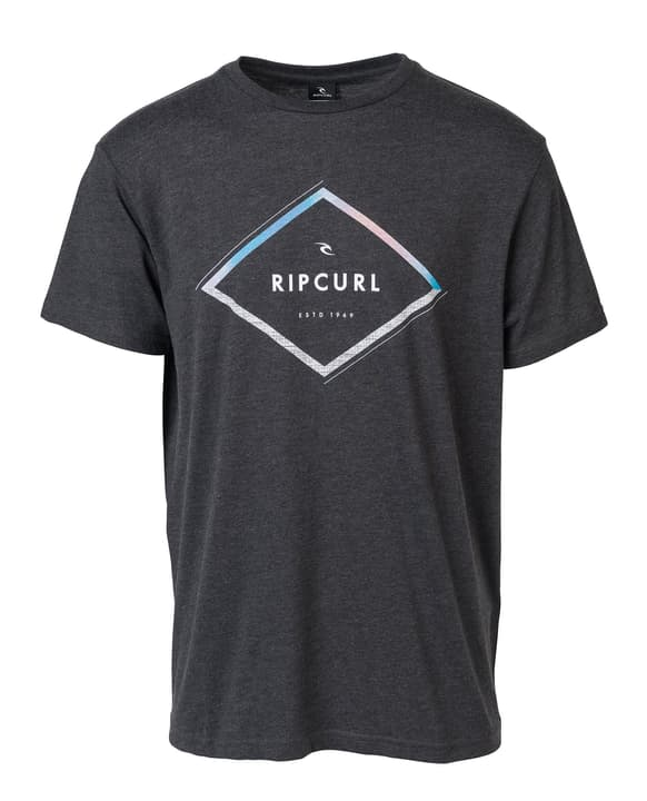 T-shirt A-Frame T-shirt pour homme Rip Curl 463127700386 Couleur antracite Taille S Photo no. 1