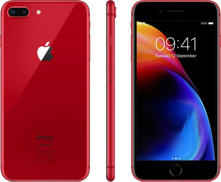 iPhone 8 Plus rot 64GB Smartphone 785300134677 N. figura 1