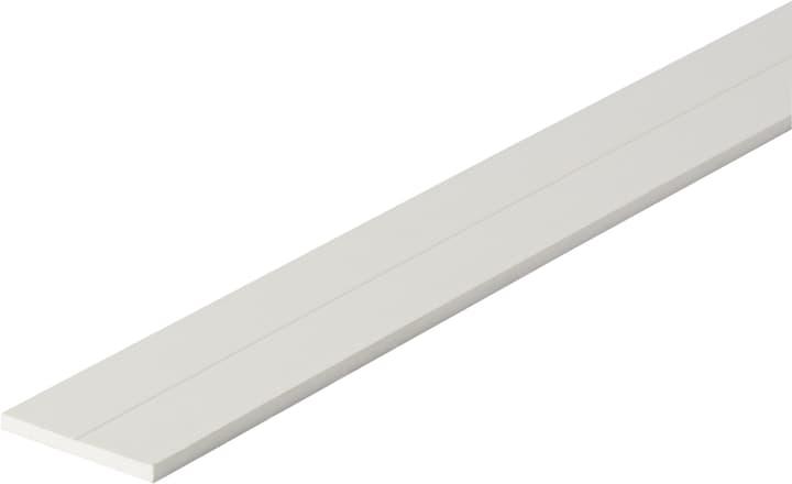 Flachstange 3 x 29.5 mm PVC weiss 1 m alfer 605114200000 Bild Nr. 1