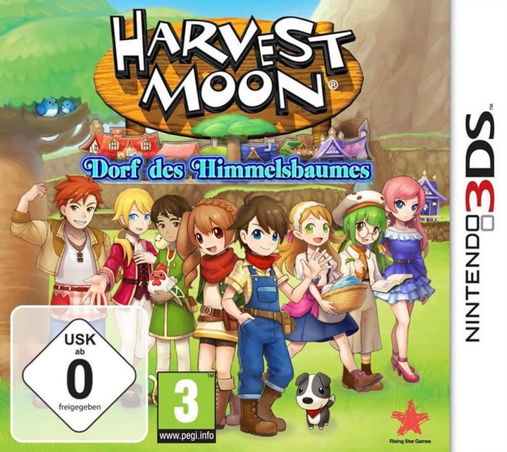 3DS - Harvest Moon: Dorf des Himmelsbaumes Box 785300122089 Photo no. 1