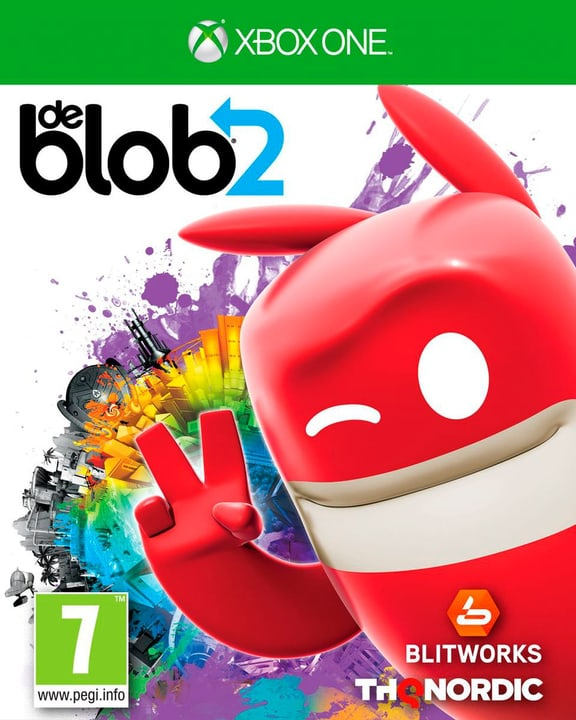De Blob 2 [XONE] (F/I) Box 785300132062 Photo no. 1