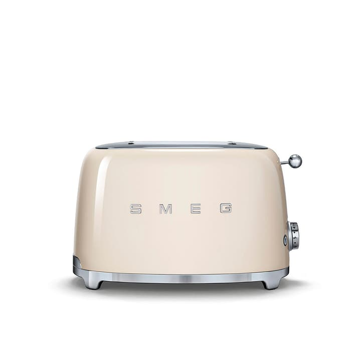 50'S RETRO STYLE Tostapane crema Smeg 393172000000 Dimensioni L: 31.0 cm x P: 20.0 cm x A: 20.0 cm Colore Crema N. figura 1