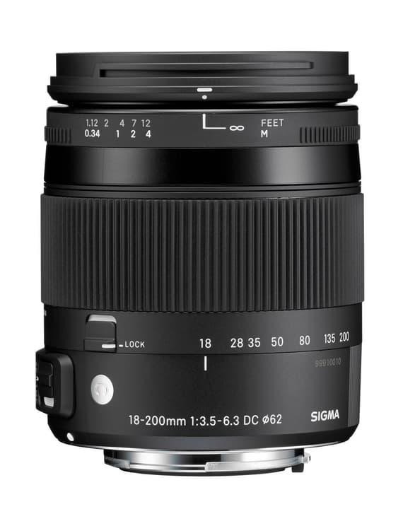 18-200mm F3.5-6.3 DC Makro OS HSM Contemporary per Nikon Obiettivo Sigma 785300126190 N. figura 1