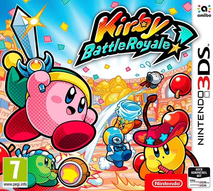 3DS - Kirby Battle Royale 785300130173