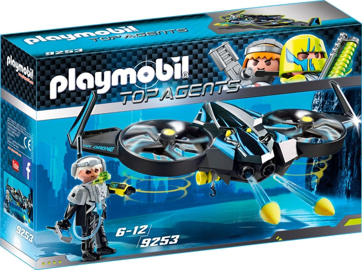 Playmobil Top Agent Mega Drone 9253 746087000000 Photo no. 1