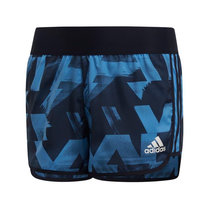 Marathon Short Mädchen-Short Adidas 464598512840 Farbe blau Grösse 128 Bild-Nr. 1