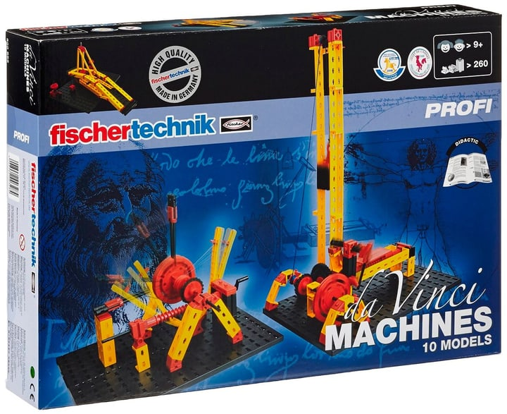 FischerTechnik Da Vinci Machines 785300127905