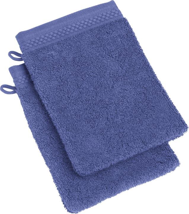 NEVA Lavettes à 2 piéces 450849720043 Couleur Bleu foncé Dimensions L: 15.0 cm x H: 21.0 cm Photo no. 1