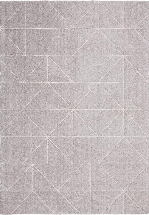 FLAVIAN Tappeto 412020912080 Colore grigio Dimensioni L: 120.0 cm x P: 170.0 cm N. figura 1
