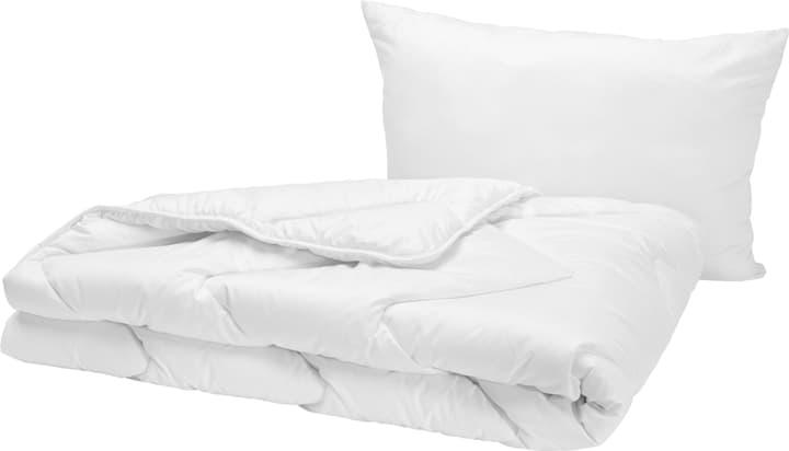 PLUMA biancheria da letto di serie n fibra sintetica 451757320010 Colore Bianco Dimensioni L: 160.0 cm x P: 210.0 cm N. figura 1