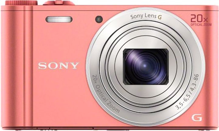 DSC-WX350 Cybershot Appareil photo compact pink Sony 785300123845 Photo no. 1