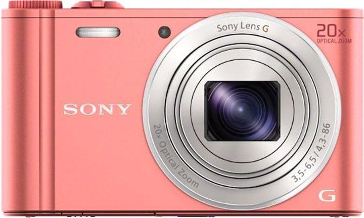 DSC-WX350 Cybershot pink Fotocamera compatta Sony 785300123845 N. figura 1