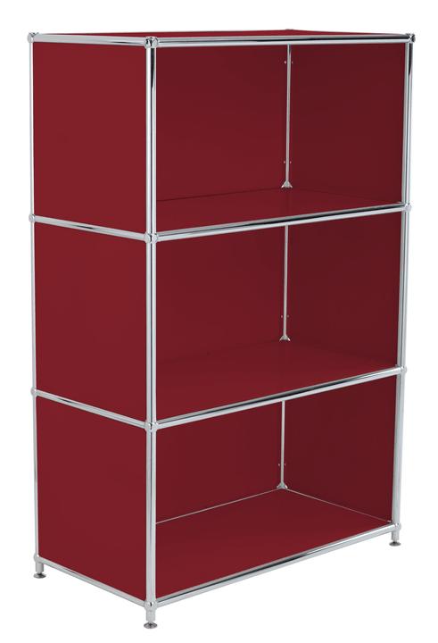 FLEXCUBE Buffet alto 401808600030 Dimensioni L: 77.0 cm x P: 40.0 cm x A: 118.0 cm Colore Rosso N. figura 1