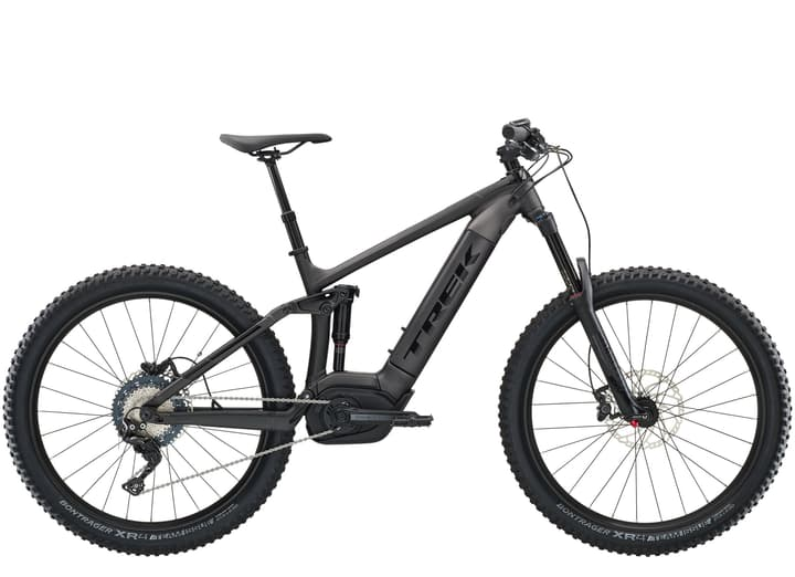 """Powerfly FS 7 27.5""""+ bicicletta elettrica (mountain bike) Trek 463344615520 Dimensioni del telaio 15.5 Colore nero N. figura 1"""