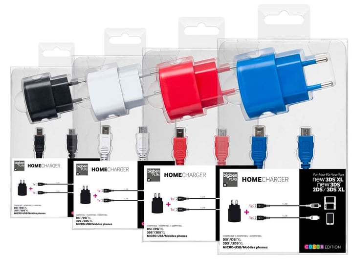 Home Charger - assorted Bigben 785300131510 Bild Nr. 1