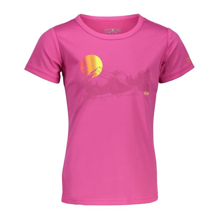 Shirt pour fille CMP 464545512829 Couleur magenta Taille 128 Photo no. 1