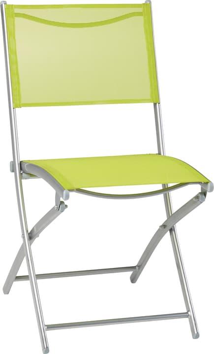 Sedia pieghevole SEVILLA 753136000061 Colore Verde Chiaro Taglio L: 56.0 cm x P: 46.0 cm x A: 85.0 cm N. figura 1