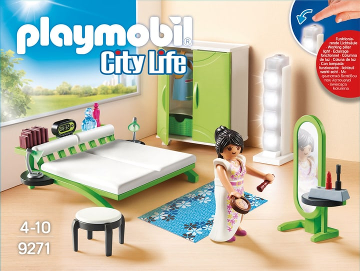 Playmobil City Life Chambre avec espace maquillage 9271 746082900000 Photo no. 1