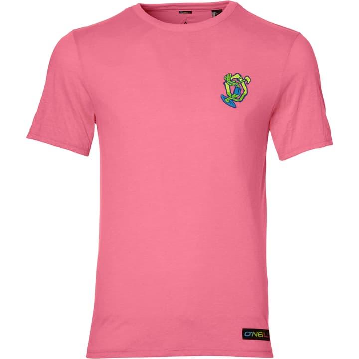 T-SHIRT LM 88 BEACH T-Shirt pour homme O'Neill 463113500417 Couleur framboise Taille M Photo no. 1