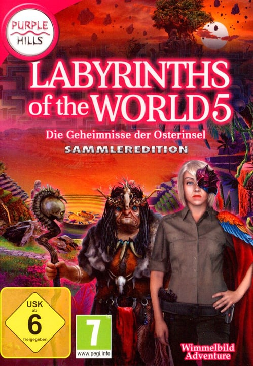 PC - Purple Hills: Labyrinths of the World 5 (D) Box 785300131470 Photo no. 1