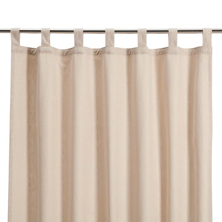 MELVA Rideau opaque prêt à poser 372061000000 Couleur Beige Dimensions L: 135.0 cm x H: 240.0 cm Photo no. 1