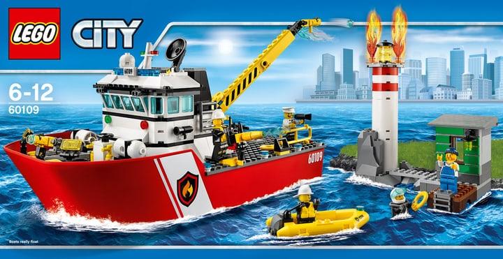 LEGO City Feuerwehrschiff 60109 748805600000 Bild Nr. 1
