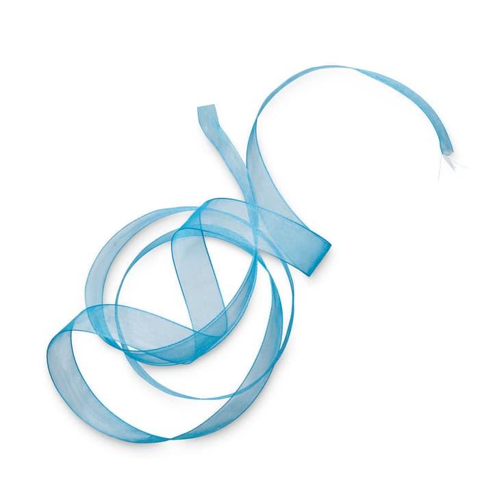 ORGANSA ruban 15 mm  x 5 m 386183200000 Dimensions L: 500.0 cm x P: 1.5 cm x H: 0.1 cm Couleur Bleu clair Photo no. 1