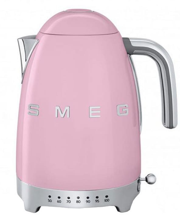 50's Retro Style avec Temp. variable, rose Bouilloire Smeg 785300136776 Photo no. 1
