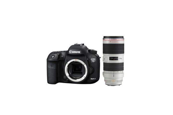 EOS 7D Mark II + EF 70-200mm 4L Kit appareil photo reflex Canon 785300126128 Photo no. 1