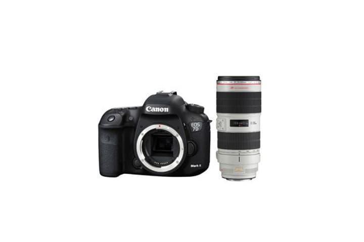 EOS 7D Mark II + EF 70-200mm 4L Canon 785300126128 Bild Nr. 1
