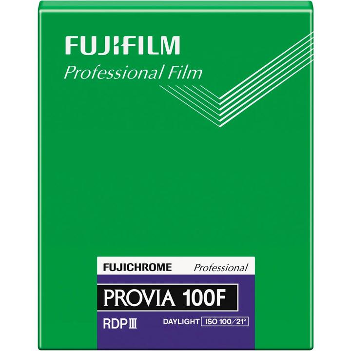 """Provia 100F RDPIII 4x5"""" 20-Pack FUJIFILM 785300134757 N. figura 1"""