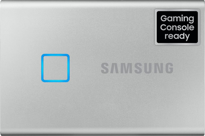 SSD T7 Touch portable 1TO argent Disque Dur Externe SSD Samsung 785300150217 Photo no. 1